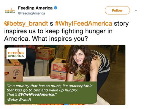 Betsy Brandt Tweet