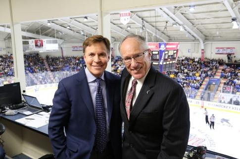 Bob Costas and Kraft Hockeyville USA game broadcast