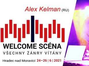 Alex Kelman will perform at Hradecky Slunovrat