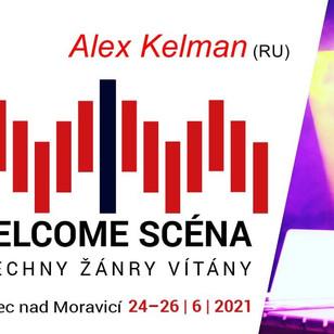 Alex Kelman will perform at Hradecky Slunovrat
