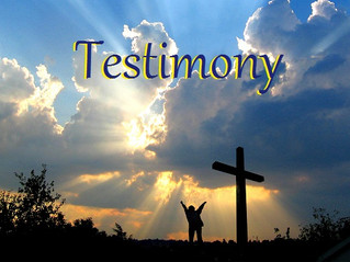 You Are A Living Testimony