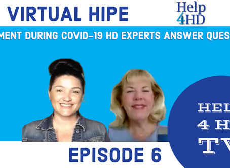 HIPE VIRTUAL EXPERT PANEL ANSWERS QUESTION ABOUT NOT BEING ABLE TO VISIT LOVED ONE IN CARE FACILITY