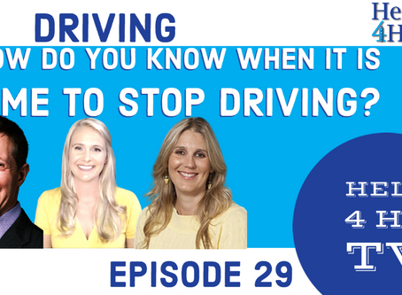 When do you know it is time to stop driving?