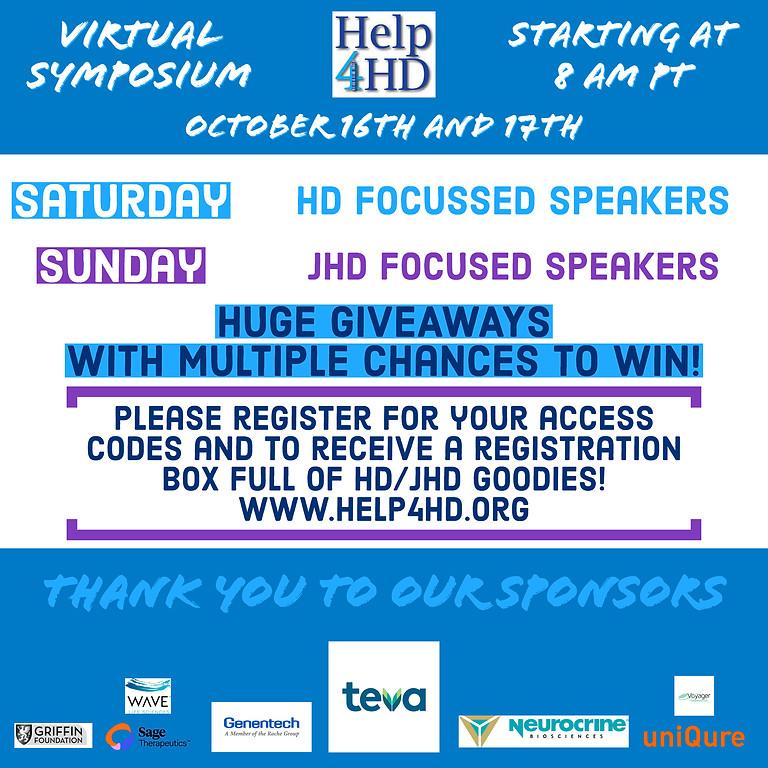 Help 4 HD International Virtual Symposium, 2021