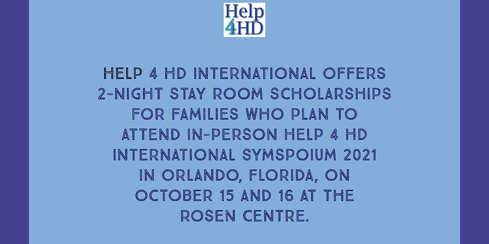Help 4 HD International Room Scholarships