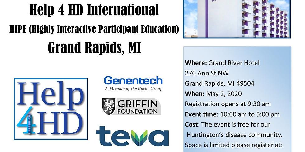 (Canceled) Help 4 HD International HIPE Grand Rapids, MI