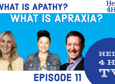 What is Apraxia? What is Apathy?