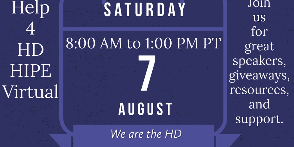 Help 4 HD HIPE Virtual, We are the HD Community