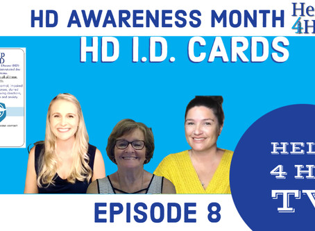 Help 4 HD Gives Free Medical I.D. Cards to HD Families