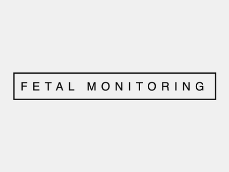 Monitoring in Labour