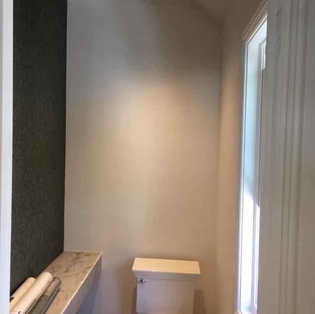 Wallpaper, bathroom