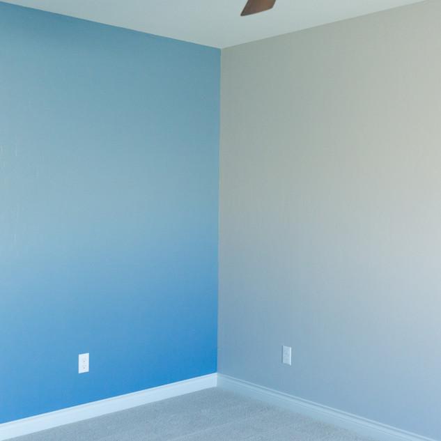 Boys Bedroom Custom colors-