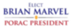 Elect Brian Marvel PORAC President