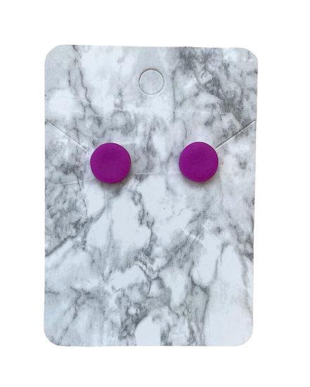 Neon purple studs (Small)