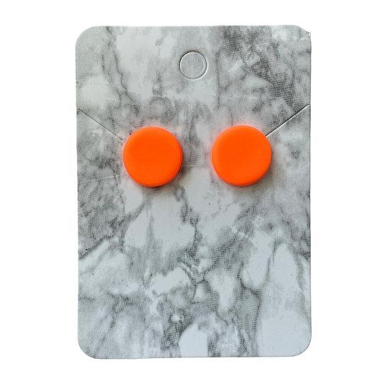 Neon orange studs (Medium)