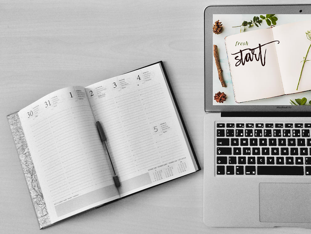 """""""Fresh start"""" downloadable background for January"""