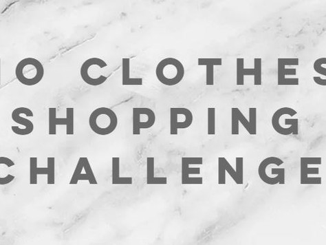 The year I gave up clothes shopping