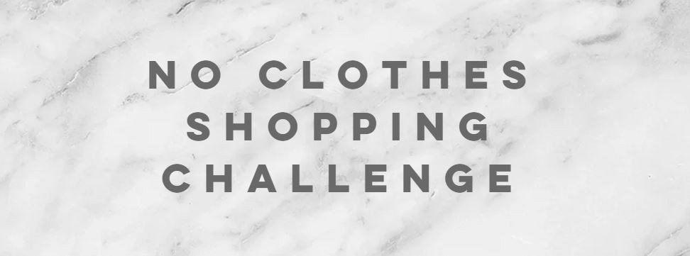 No clothes shopping challenge