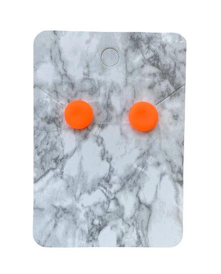 Neon orange studs (Small)