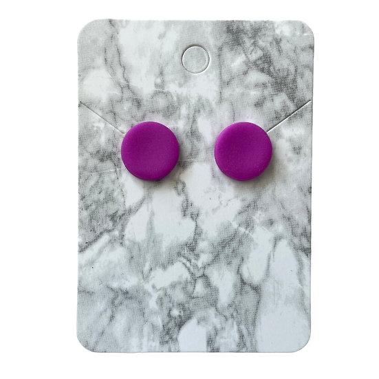 Neon purple studs (Medium)