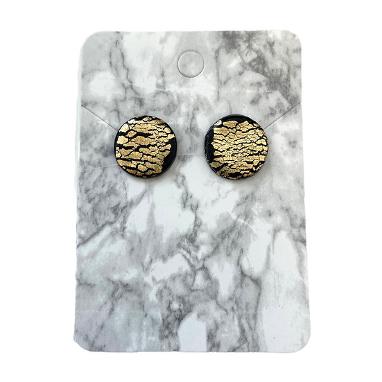 Black and gold studs (Large)