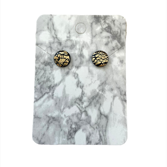 Black and gold studs (Small)