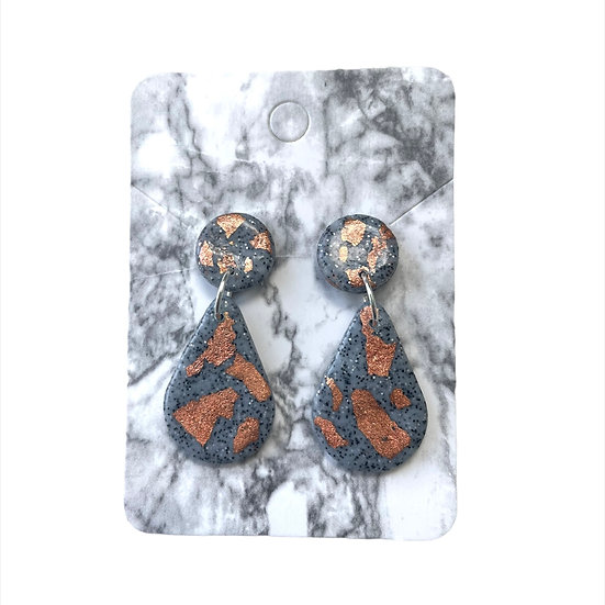 Granite and copper dangles