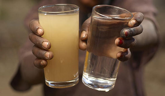 Pray for clean water