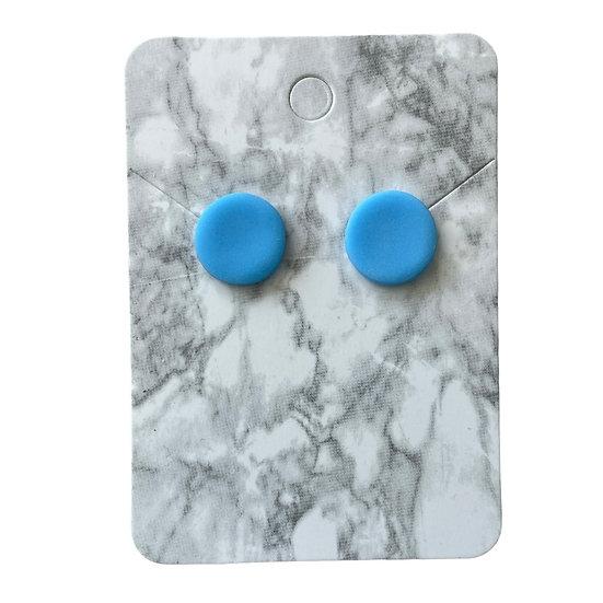 Neon blue studs (Medium)