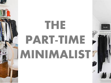 The Part-Time Minimalist | Guest post