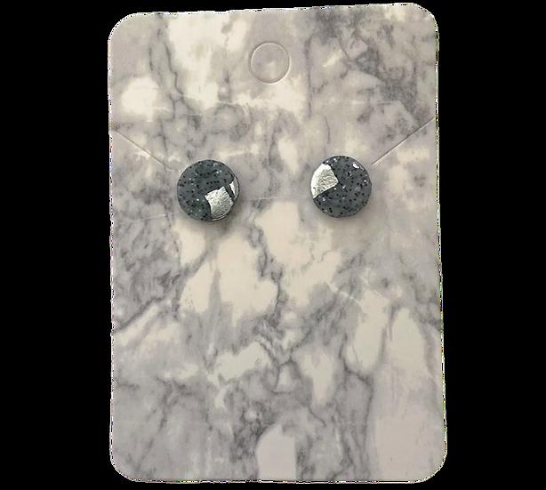 Granite and silver studs (Small)