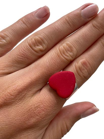 Spread love (matte) ring