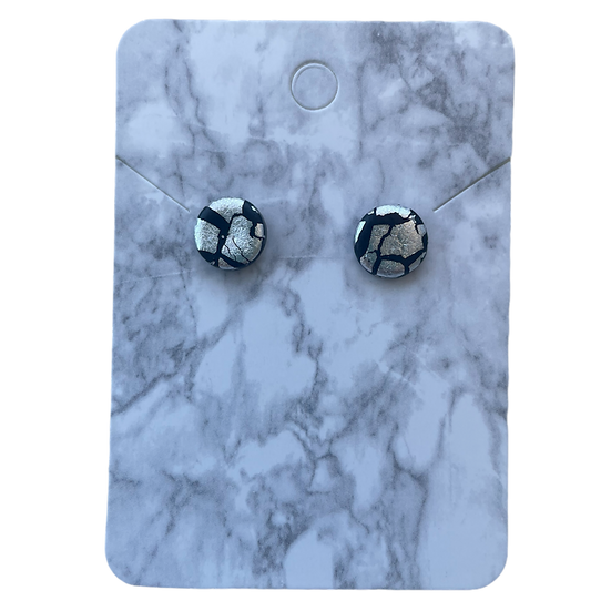 Black and silver studs (Small)