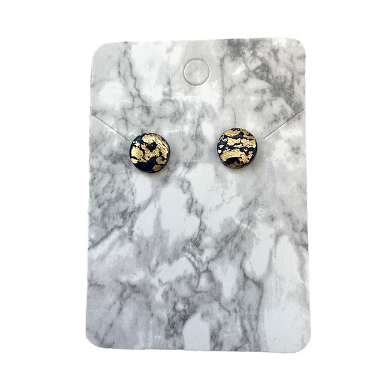 Navy and gold studs (Small)