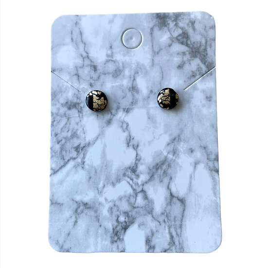Black and gold studs (Micro)