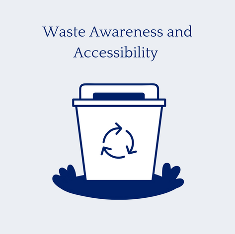 Waste Awareness and Accessibility