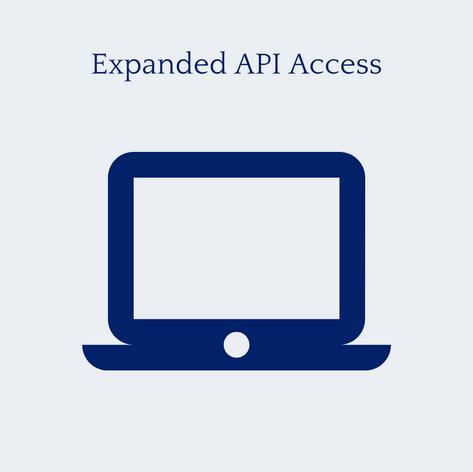 Expanded API Access