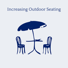Increased Outdoor Seating