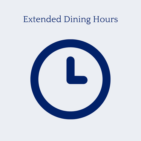 Extended Dining Hours
