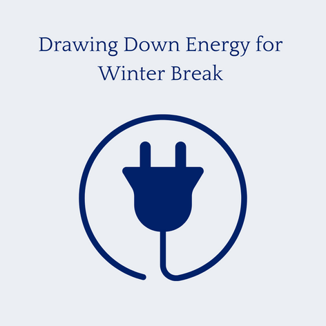 Energy Drawdown for Winter Break