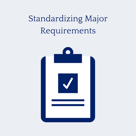 Standardizing Major Requirements