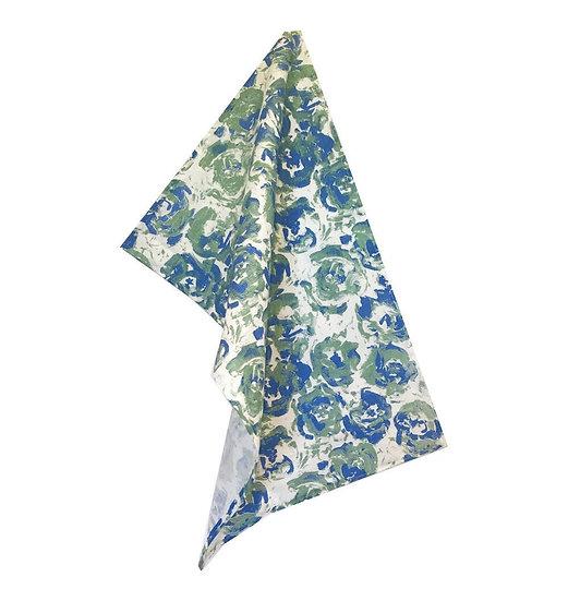 Bloom: Moss Tea Towel