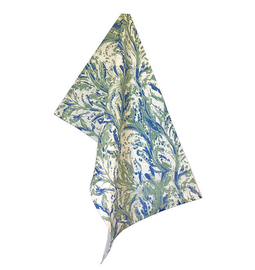 Vine: Moss Tea Towel