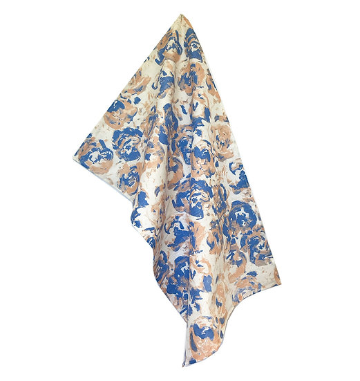 Bloom: Peach Tea Towel