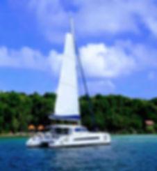 Sortie catamaran fonds bla