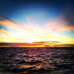 Tobago Cays sunrise