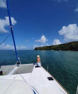 Catamaran fonds blancs