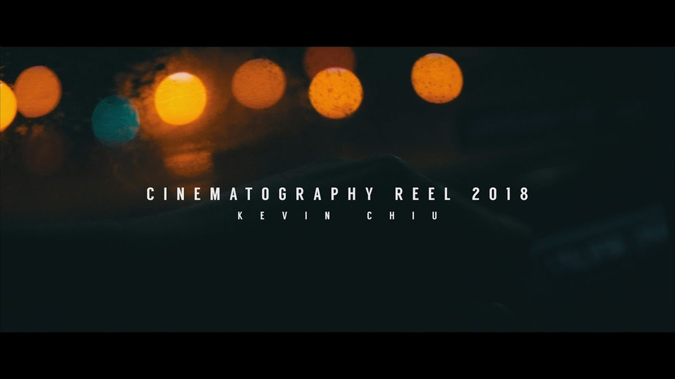 Cinematography Reel 2018