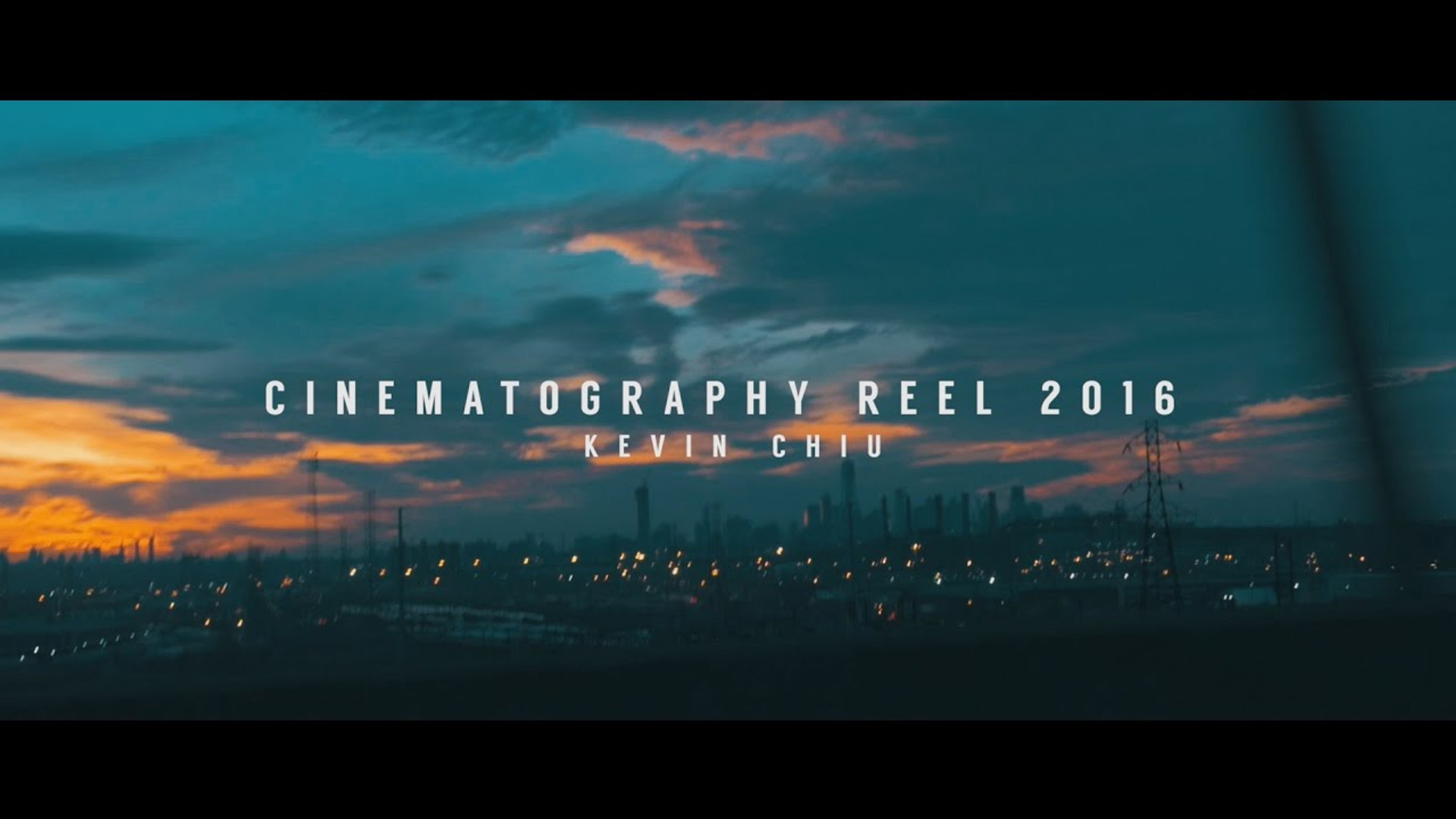Cinematography Reel | 2016 | Kevin Chiu (GH4)