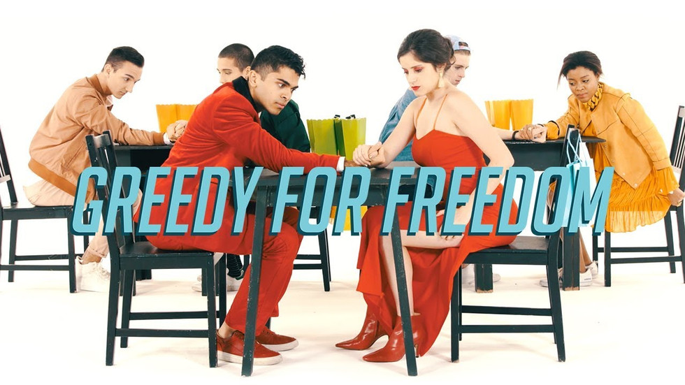 """Greedy for Freedom - """"Penn Counterparts"""""""